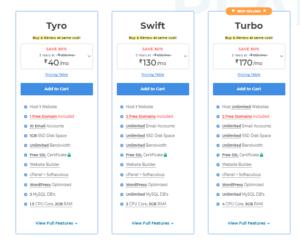 MilesWeb Managed WordPress Hosting Plan